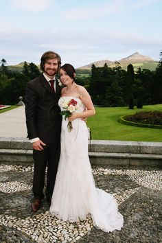 Powerscourt Country House and Gardens is an historic wedding venue set in the romantic Wicklow countryside. One of Ireland's finest wedding venues. Summer Wedding, Our Wedding, Wedding Ideas, Wedding Locations, Wedding Venues, Wedding Couples, Countryside, Backdrops, Home And Garden