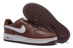 nike air force 1 basso cuoio  'scarpe nero arancione da uomini