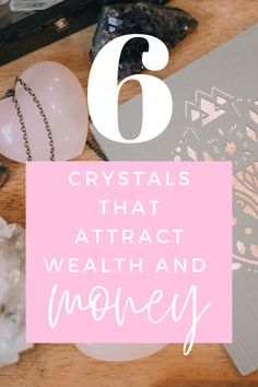 These crystals will help attract wealth, money and prosperity to your life. Click to read more! #crystals #stones #spirituality #Chakras Crystals For Wealth, Crystals And Gemstones, Stones And Crystals, Healing Gemstones, 5 Elements, Lucky Stone, Attract Money, Stone Crafts, Chakra Stones