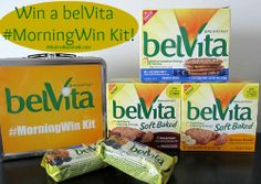 My #MorningWin + belVita Gift Pack Giveaway