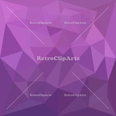 Plum Purple Abstract Low Polygon Background Vector Stock Illustration.  Low polygon style illustration of a plum purple abstract geometric background.