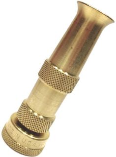 Solid Brass Garden Hose Nozzle This nozzle sprays a very fine