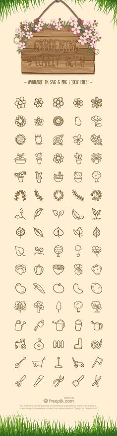 Free Gardening Icon Set, #Free, #Gardening, #Graphic #Design, #Icon, #PNG, #Resource, #SVG, #Vector
