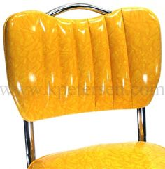 Channelback diner chair with hand-hold