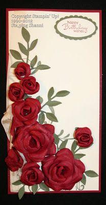 Stamping Shanni: Handmade Rose Cards for Heartfelt