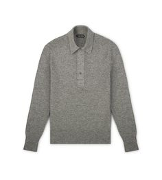 LONG SLEEVE POLO | Shop Tom Ford Online Store