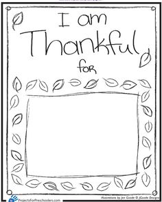 5 Fun Filled Thankful Thanksgiving Printables for Kids | Natural ...