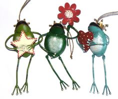 FROGGY ORNAMENTS