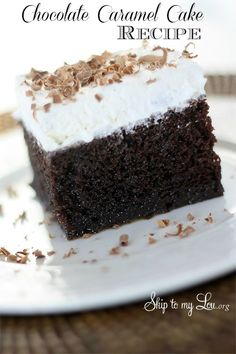 Chocolate-Caramel-Cake