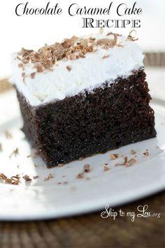 Chocolate-Caramel-Cake