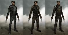 X-MEN: DAYS OF FUTURE PAST - Concept Art for Wolverine and More — GeekTyrant