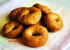 Greek Sweets, Sweet Corner, Sweets Cake, Diabetic Friendly, Greek Recipes, Healthy Desserts, Bagel, Healthy Living, Brunch