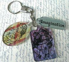 Keychain Fob - Artwork by Laura Liddell