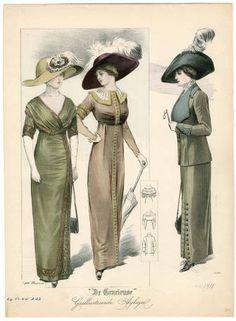 1910-1913, Plate 068 :: Costume Institute Fashion Plates