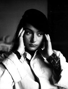Anouk Aimée, French actress.
