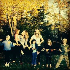 Thanksgiving Photo with kids! #thanksgiving #thankful #craft