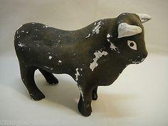 "Vintage Ceramic Flocked Mexico Mexican Bull Bank 9""x7 5""x4"" CG5488 | eBay"