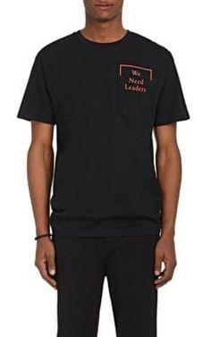 "PUBLIC SCHOOL ""We Need Leaders"" Cotton T-Shirt. #publicschool #cloth #t-shirt"