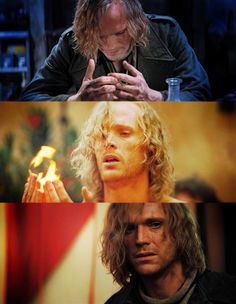 Paul Bettany as Dustfinger from Inkheart, this created the visual inspiration for Cristos