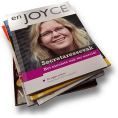 enJoyce, tijdschrift Joyce Dunnewold - Een zeer originele manier van solliciteren
