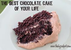 The Best Chocolate Cake of Your Life