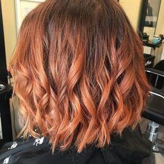 Short Auburn Hair, Auburn Hair Balayage, Hair Color Auburn, Red Hair Color, Hair Color Balayage, Auburn Bob, Hair Colours, Colors, Ombre Hair Color For Brunettes
