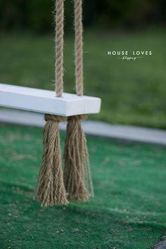 Huśtawka Ogrodowa (Nie Tylko dla Dziecka) - DIY - Garden Swing Seat, Backyard Swings, Fire Pit Patio, 40th Birthday, Store Design, Outdoor Furniture, Outdoor Decor, Diy And Crafts, Panel Walls