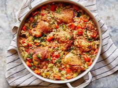 Food network recipes 31806741106457320 - The Best Chicken and Rice Recipe Turkey Recipes, Chicken Recipes, Dinner Recipes, Chicken Ideas, Holiday Recipes, Rice Dishes, Main Dishes, Rice Bowls, Food Network Recipes