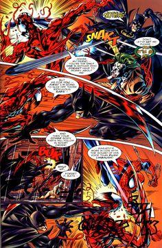 spider man vs batman   Spider-Man & Batman - Disordered Minds - Batman VS Carnage - The Spill ...