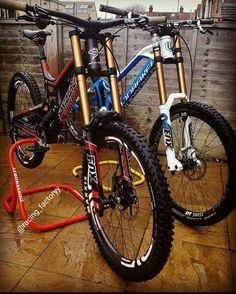 "Downhill   MTB Bikes on Instagram  ""Which one do you pick  Santa Cruz V10  or Mondraker Summum  12d74140c6446"