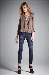 Joie Blouse & Current/Elliott Jeans
