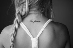 Live forever #tattoo