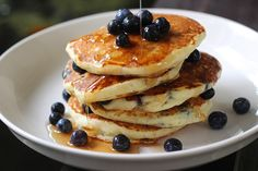 buttermilk pancakes blueberries food porn photos forward blueberry ...