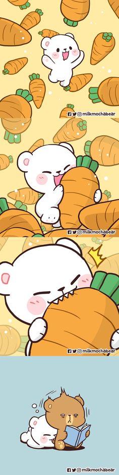 Bear Wallpaper, Cute Wallpaper Backgrounds, Cartoon Wallpaper, Cute Wallpapers, Cute Cartoon Pictures, Cute Love Cartoons, Cute Kawaii Animals, Kawaii Cat, Summer Fun List
