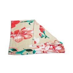 Floral! Cobertor Soft Pickorruchos Bege Floral. #petmeupet #cobertor #manta #pickorruchos