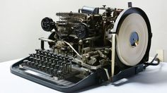 Bletchley Park code machine that Hitler and generals used found rusting in Essex shed Enigma Machine, Bletchley Park, Antique Typewriter, Vintage Typewriters, National Museum, Selling On Ebay, World War Two, Historical Photos, Wwii