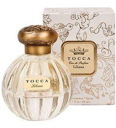 $68 Tocca - Liliana edp- 1.7 oz Head: Italian Bergamot, Neroli, Watery Peach Heart: Muguet, Gardenia, White Peony Base: Sandalwood, Musk, Benzoin, Patchouli