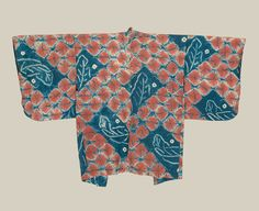 This silk haori (jacket) features masterful shibori (tie-dye) work. Early Showa period (1927-1940), Japan. The Kimono Gallery