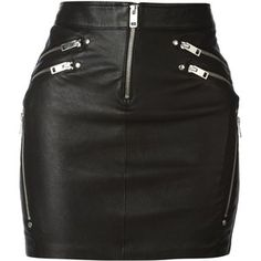 Diesel Yusra Leather Zips Mini Skirt and other apparel, accessories and trends. Browse and shop 8 related looks. Real Leather Skirt, Black Leather Mini Skirt, Short Skirts, Clothes, Petite Fashion, Curvy Fashion, Fall Fashion, Style Fashion, Gothic Fashion