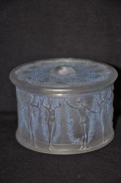 lalique round container - 12 dancing princesses?