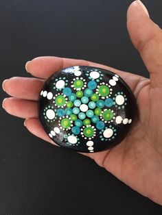 A personal favorite from my Etsy shop https://www.etsy.com/listing/233868438/mandala-painted-stone