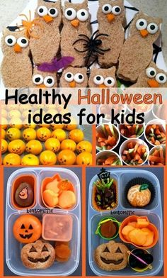 Keep kids healthy with these great ideas for nutritious Halloween treats.