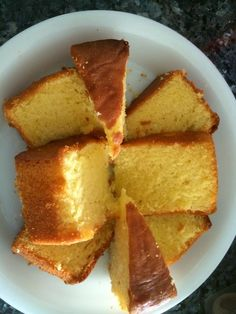 Baking's Corner: Butter Cake - by Serena Ng