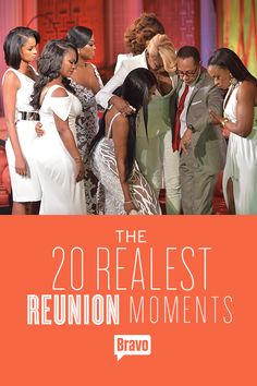 Nothing gets more real than a Housewives Reunion. Watch the most epic moments in Reunion history.