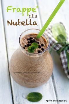 Frappé alla Nutella (Nutella Milkshake) from @Rowena Dumlao Giardina | Apron and Sneakers