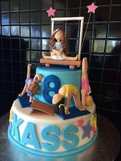 23 Inspiration Image Of Gymnastics Birthday Cake
