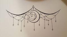Underboob tattoo design by ImperialDroid.deviantart.com on @DeviantArt
