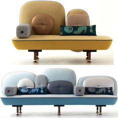Moroso couch and love seat. So in love.