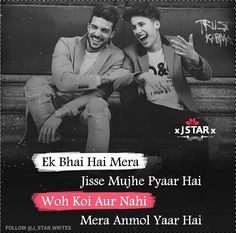 Friendship Quotes In Hindi, Best Friend Quotes Funny, Besties Quotes, Thug Life Quotes, Family Love Quotes, Hindi Quotes Images, Quotes About Hate, Attitude Quotes For Girls