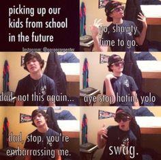 Aaron :) lol